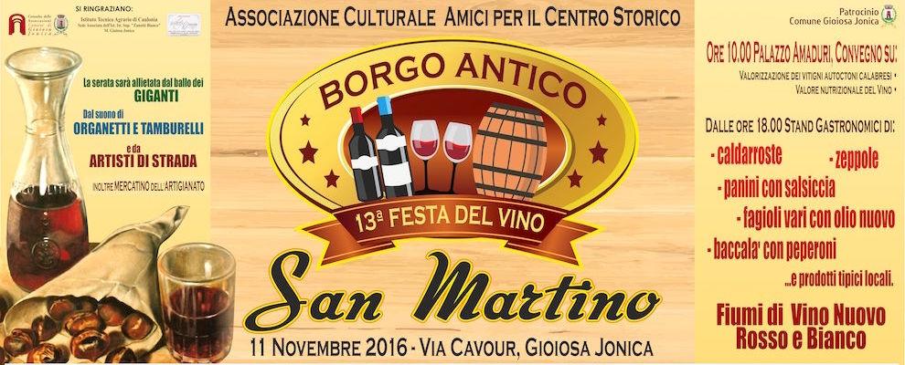 Gioiosa Ionica, San Martino: 13esima Festa del Vino