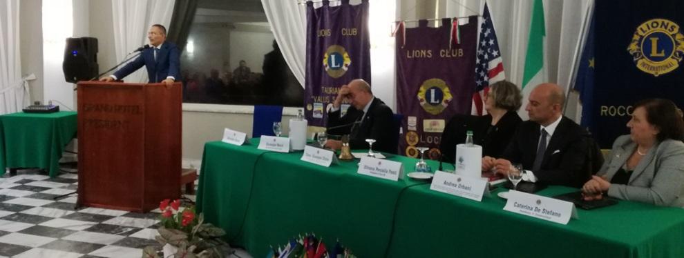 Associazione Lions: consegnato riconoscimento al consigliere Chinè
