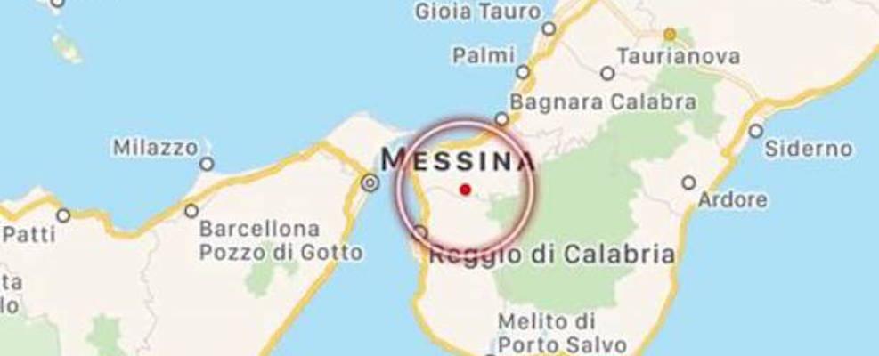 Reggio Calabria, scossa di terremoto sulle colline della città