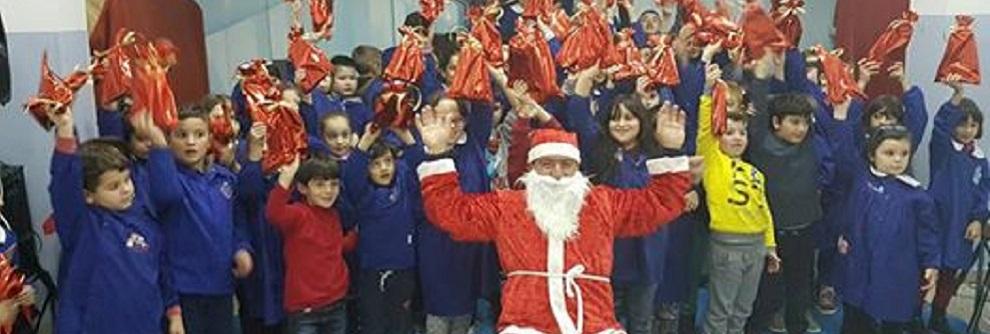 Gerace: Babbo Natale a scuola