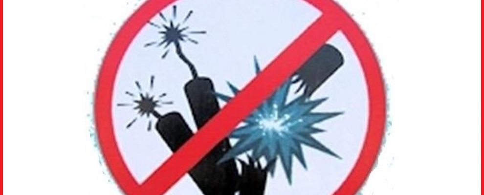 Cinquefrondi: Ordinanza Sindacale Divieto Fuochi d'Artificio