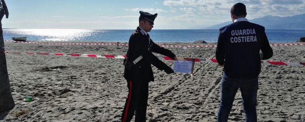 Sequestro opere abusive spiaggia Catona