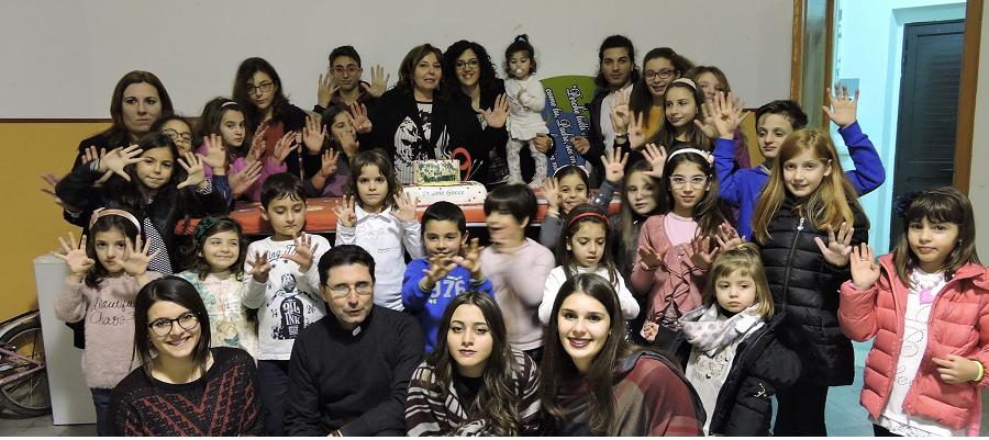 Foto del giorno Caulonia: Tanti auguri al coro delle Piccole Gocce