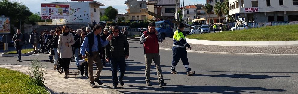 Ponte Allaro: scontro tra il Sindaco Riccio e Rocco Femia – video