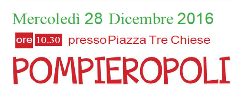 """Il 28 dicembre a Gerace la festa """"Pompieropoli"""""""