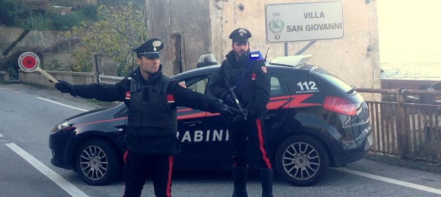 Villa San Giovanni: due arresti per furto aggravato