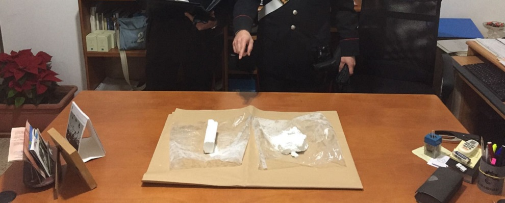 Locride, in auto con mezzo chilo di cocaina. Arrestati due giovani (nomi e foto)
