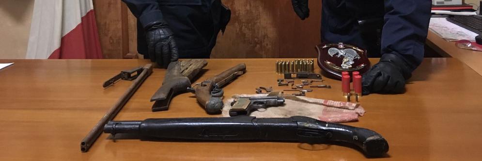 Rinvenute armi e munizioni rubate a Caulonia