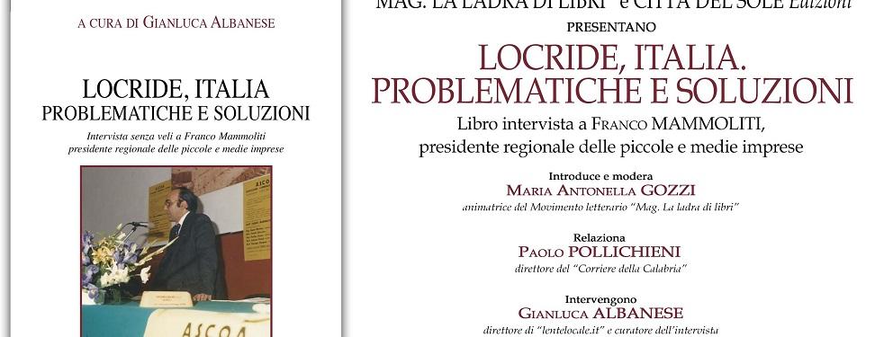 """Siderno: Presentazione libro """"Locride, Italia. Problematiche e soluzioni"""""""