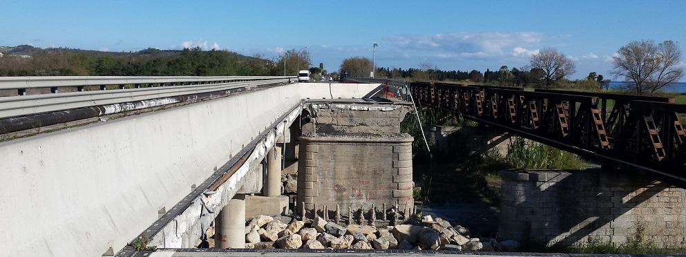 Il ponte Allaro forse pronto per inizio 2019. Ancora almeno un anno di disagi