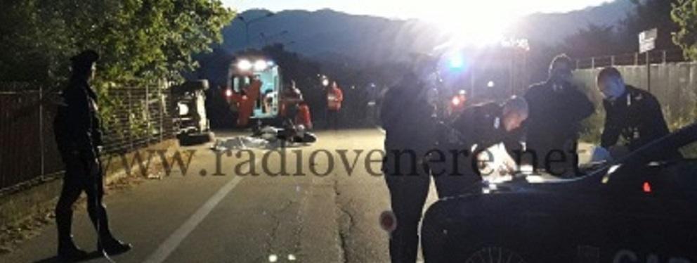 Incidente mortale sulla provinciale per S. Luca