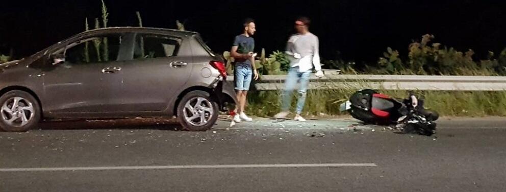 Incidente sulla S.S.106 a Roccella Jonica
