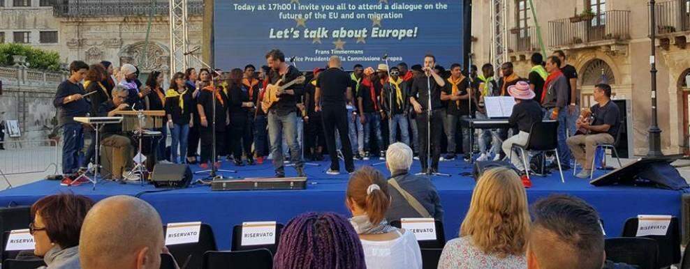 """La Locride partecipa al """"Dialogo con i cittadini"""" della Commissione Europea a Siracusa"""