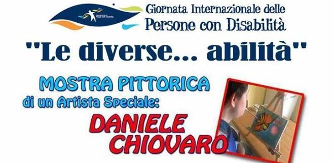 Il 3 Dicembre la mostra d'arte di Daniele Chiovaro a Bovalino