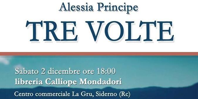 Sabato 2 dicembre la presentazione del nuovo romanzo di Alessia Principe a Siderno