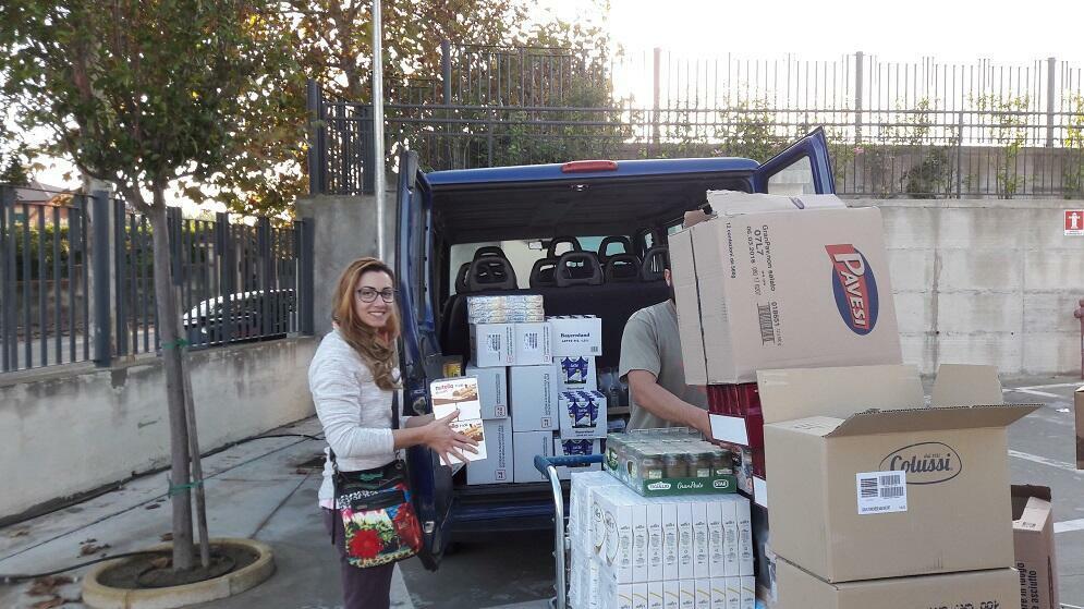 Donati a Ciavula buoni alimentari per le famiglie bisognose di Caulonia