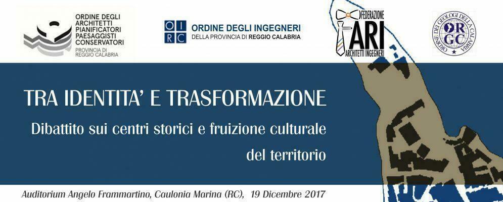 Dibattito sul recupero del centro storico il 19 dicembre a Caulonia