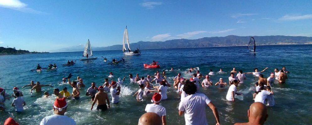 In Calabria tutti al mare per festeggiare il Capodanno