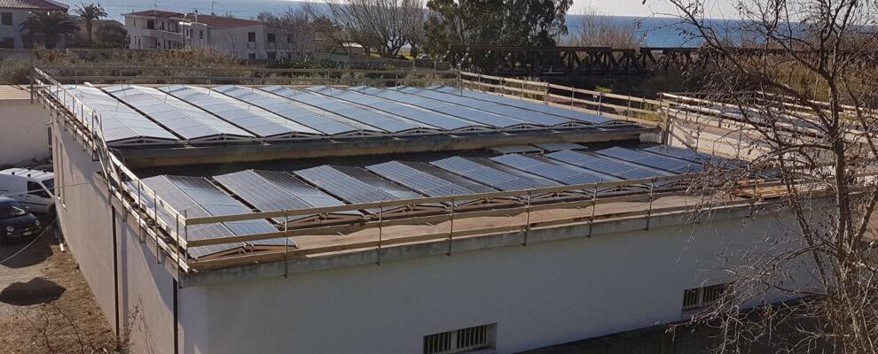 L'ex Amministraizone comunale di Marina di Gioiosa comunica il quasi completamento dei lavori dell'impianto fotovoltaico
