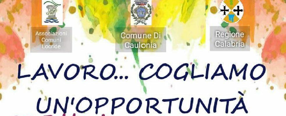 Lavoro e giovani, domani secondo incontro a Caulonia Marina