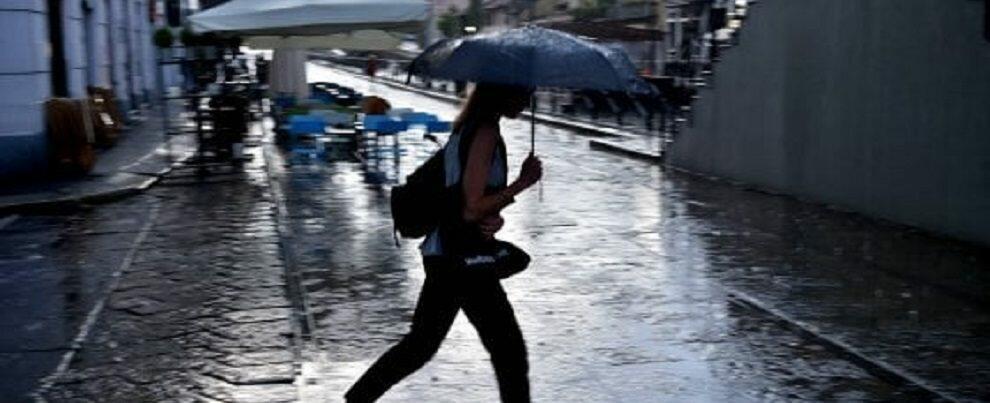 Maltempo in Calabria, la Protezione Civile lancia l'allerta arancione per domani