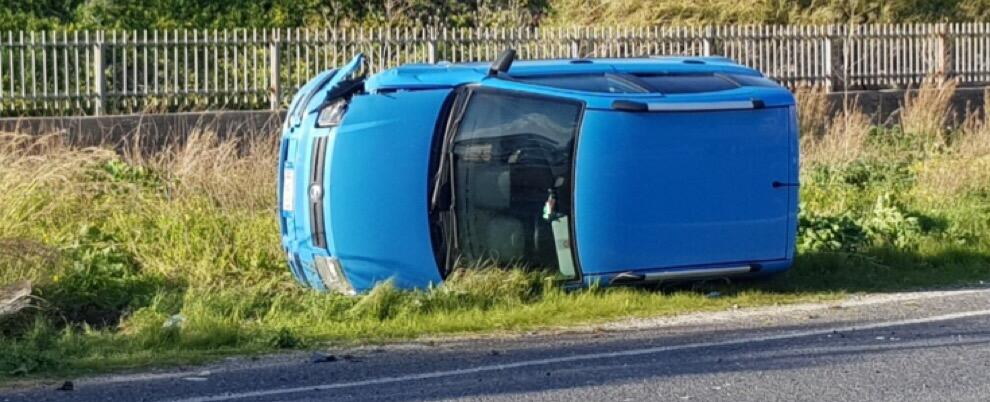 Riace: incidente stradale sulla S.S 106, due auto coinvolte