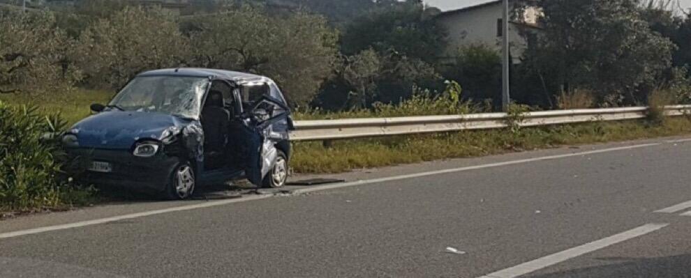 Grave incidente sulla S.S 106 a Roccella Jonica