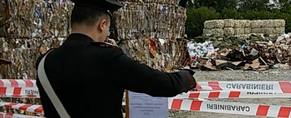 Gestione di rifiuti non autorizzata, sequestrata una discarica di 5.000 mq