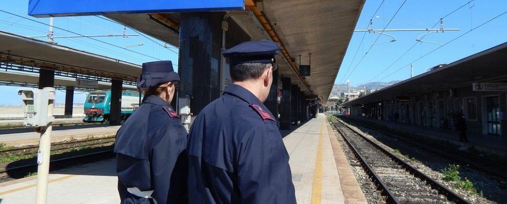 La Polizia ferroviaria denuncia un uomo per furto