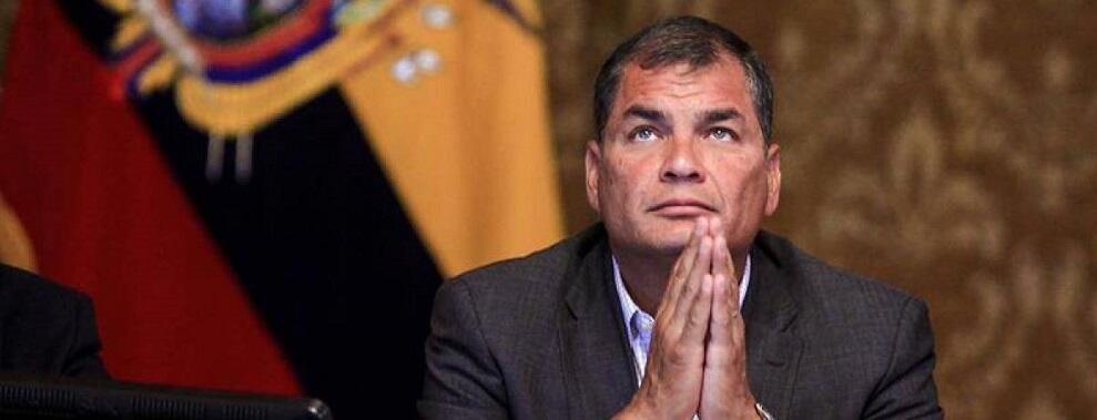 Il colpo di stato in Ecuador. Ciavula incontra l'ex Presidente Rafael Correa