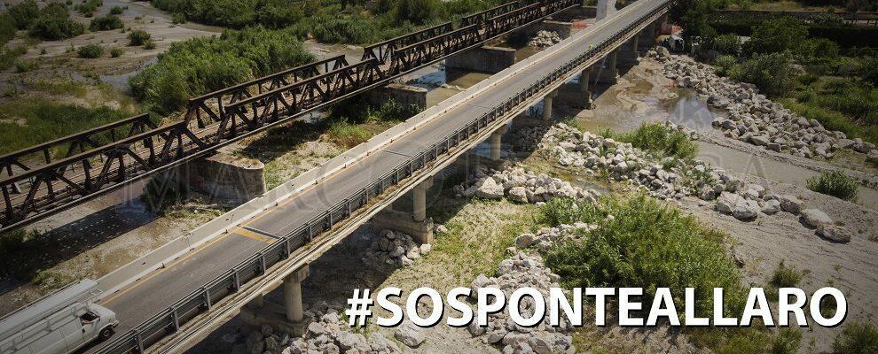 Foto del giorno: Il ponte Allaro visto dall'alto