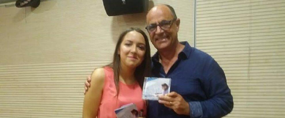 Mimmo Cavallaro padrino d'eccezione per la presentazione dell'album della cantante cauloniese Ilenia Mazzà