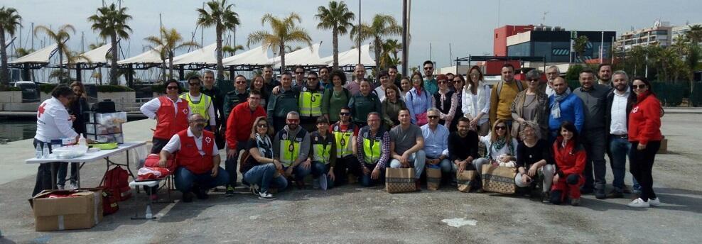 Santa Pola, della Rete dei Comuni Solidali Europea (SOLIDA), lavora all'accoglienza dei migranti della Acquarius. La soddisfazione di Maiolo