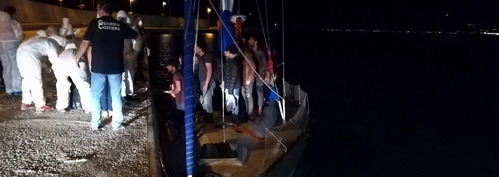 Sbarco a Roccella Jonica, fermati altri due presunti scafisti