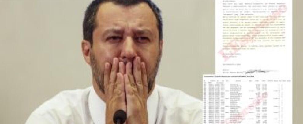 Rimborsi-truffa della Lega, i documenti che incastrano Matteo Salvini