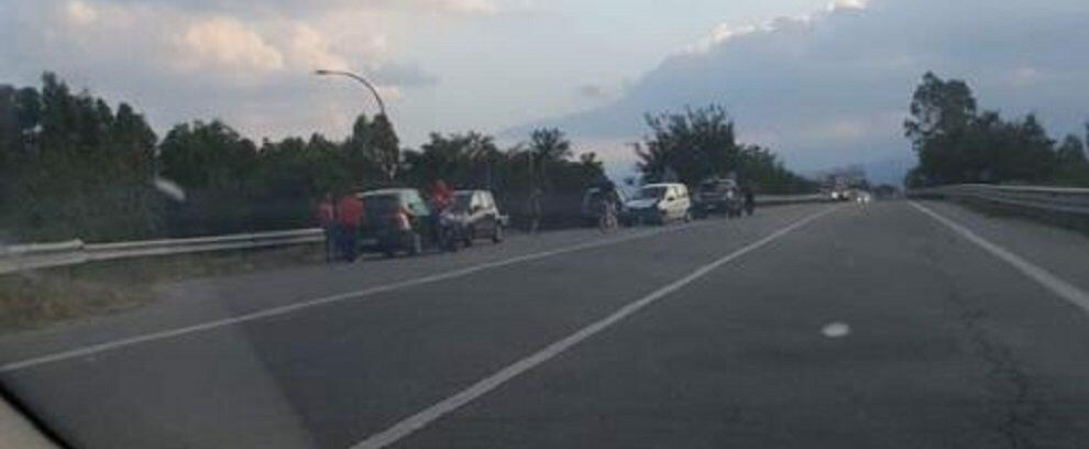 Incidente sulla S.S. 106 tra Roccella e Marina di Gioiosa