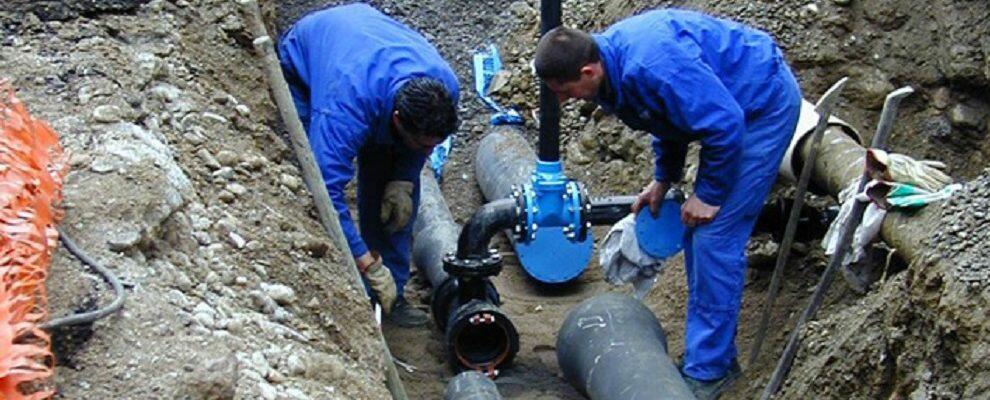 Rientrata l'emergenza idrica a Roccella Jonica, riparata la perdita