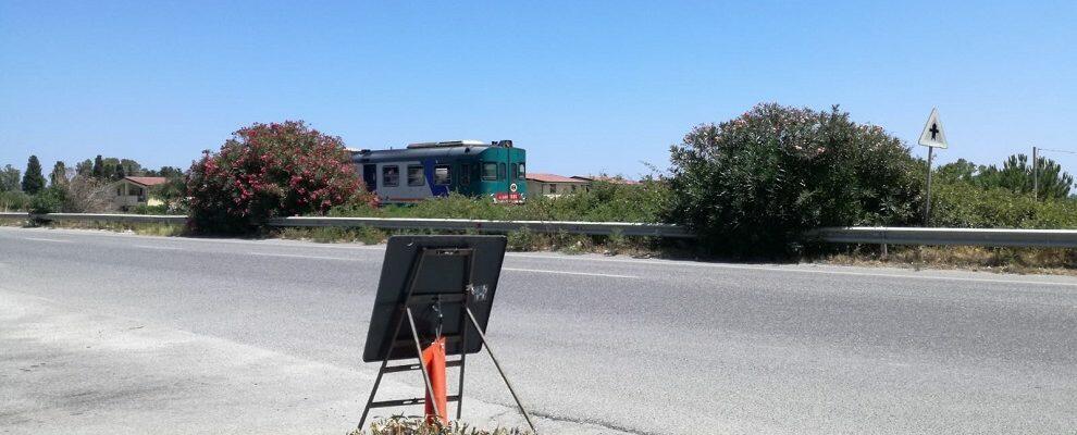 Guasto ad un treno all'altezza di Vasì di Caulonia