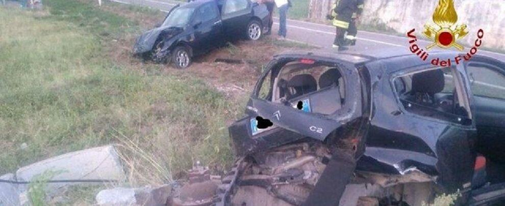 Tragico incidente sulla statale 18, due feriti