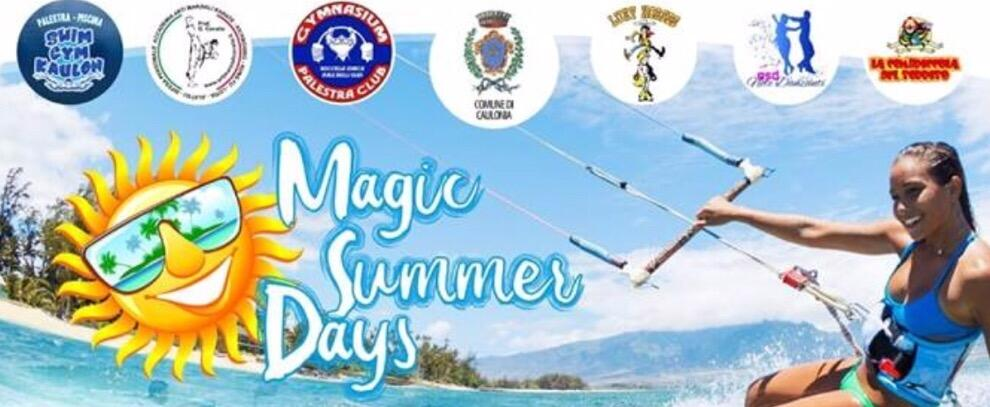 A Caulonia i Magic Summer Days: tre giorni di sport, musica e spettacolo