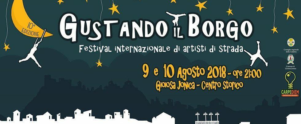 """Gioiosa Ionica, al via la decima edizione di """"Gustando il borgo – Festival Internazionale di artisti di strada"""""""
