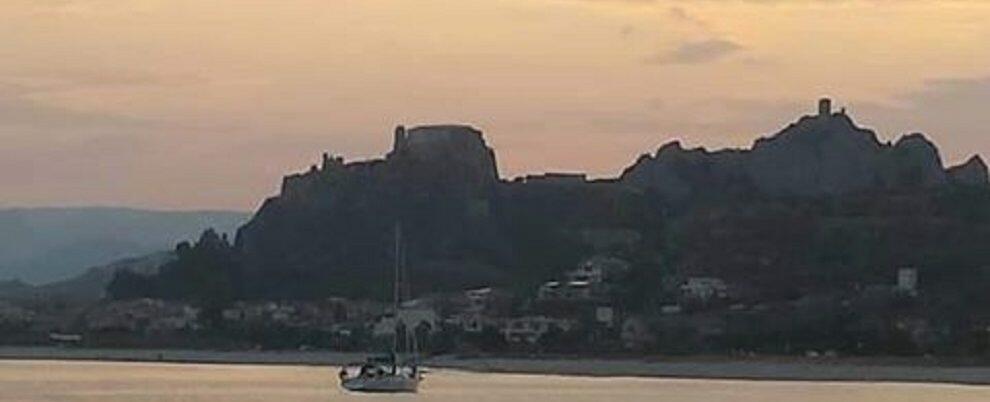 Foto del giorno: tramonto sul mare di Roccella Jonica