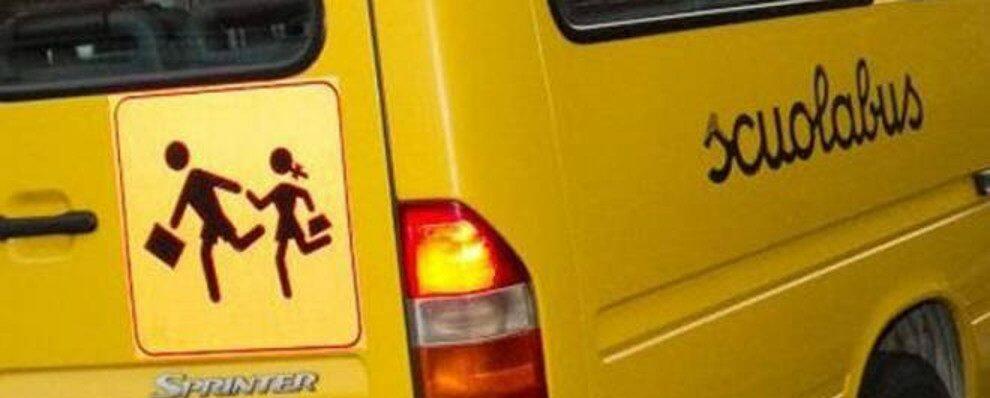Incidente allo scuolabus di Mammola con a bordo i bambini