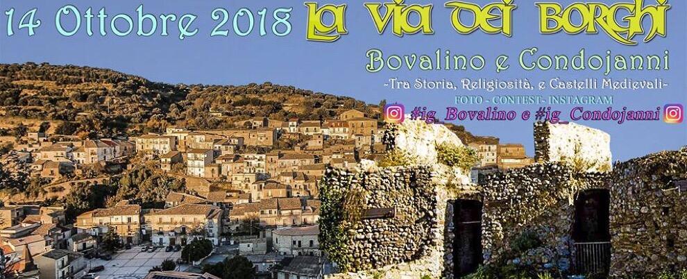 """Torna domenica a Bovalino e Condojanni """"la via dei borghi"""""""