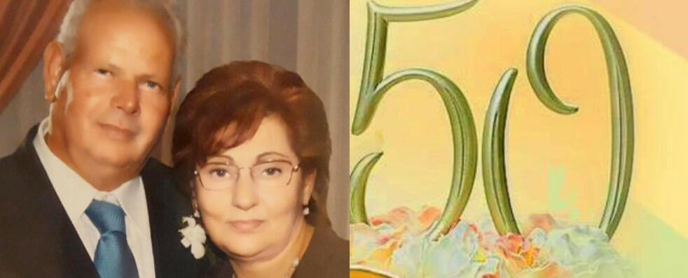 Tanti auguri a Ilario e Maria Concetta per il loro 50° anniversario di matrimonio!
