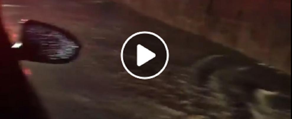 Maltempo, disastrosa la situazione di ieri sera sulla S.S. 106 – video