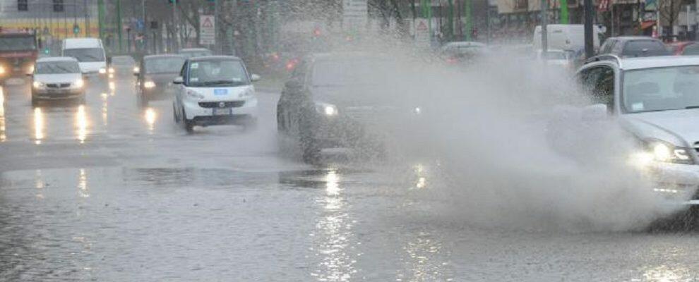 Pioggia e venti forti previsti per la giornata di domani, è allerta arancione in Calabria