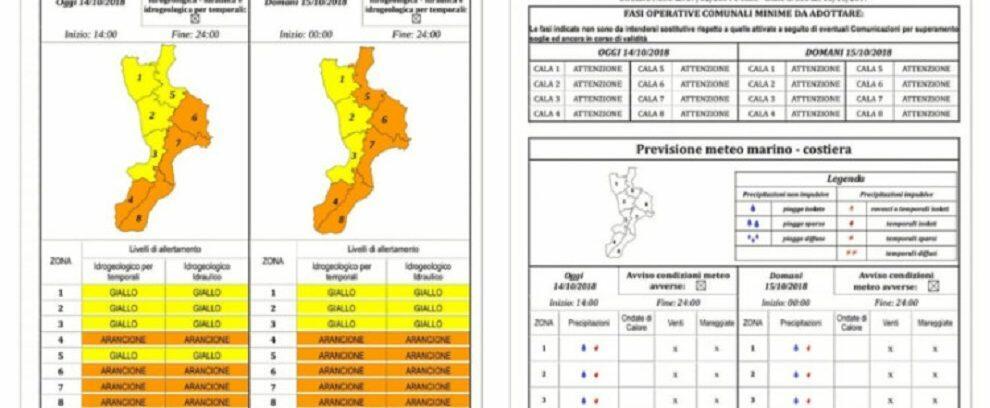 Allerta meteo in Calabria, domani scuole chiuse in alcuni comuni: ecco quali