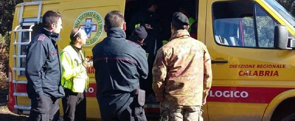 Disperso un uomo nel vibonese, impegnati nelle ricerche anche i volontari della Protezione civile di Caulonia