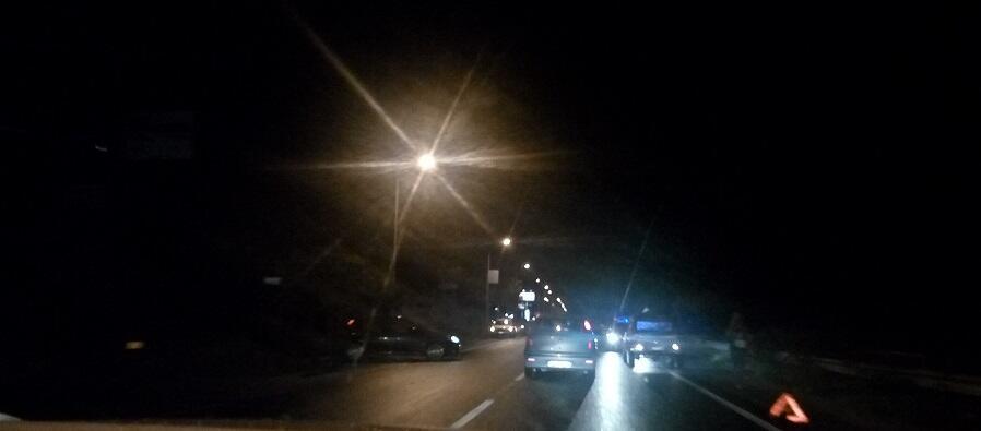 Ieri sera incidente stradale sulla statale 106 a Caulonia